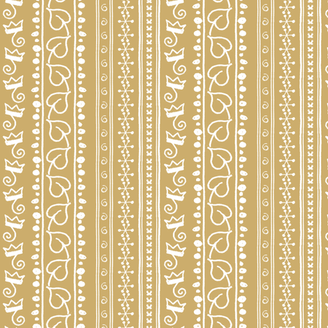 Monkey King Stripes fabric by siya on Spoonflower - custom fabric
