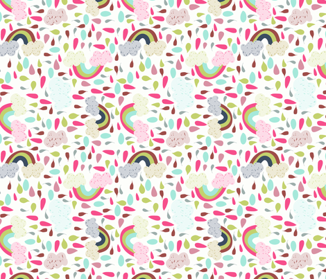 cloudbow  fabric by mondaland on Spoonflower - custom fabric