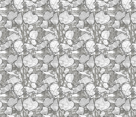 ginko fabric by lgj_design on Spoonflower - custom fabric