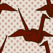 Rpaper_crane_-_red_on_white_flowers_shop_thumb
