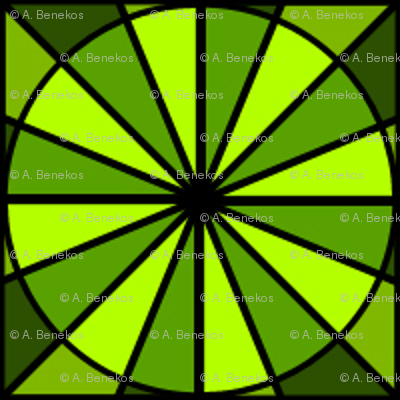 Radial Green