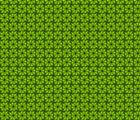 Radial Green fabric by siya on Spoonflower - custom fabric