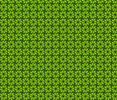 Radial Green fabric by siya on Spoonflower - custom fabric