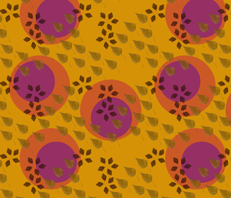 blattkreis70 fabric by kolema on Spoonflower - custom fabric