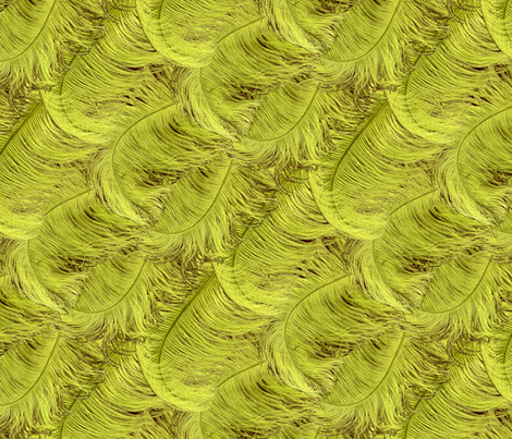 feathery fabric by hannafate on Spoonflower - custom fabric