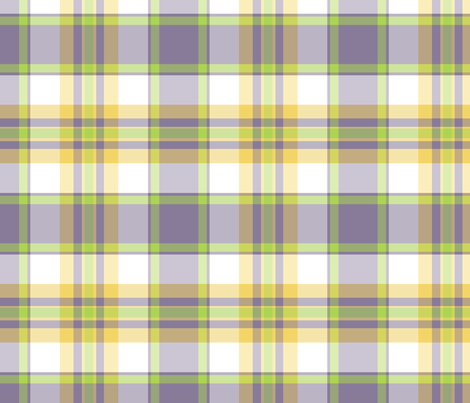 blue green plaid fabric by oranshpeel on Spoonflower - custom fabric