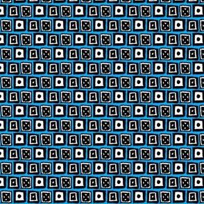 Doodle Boxes - Blue