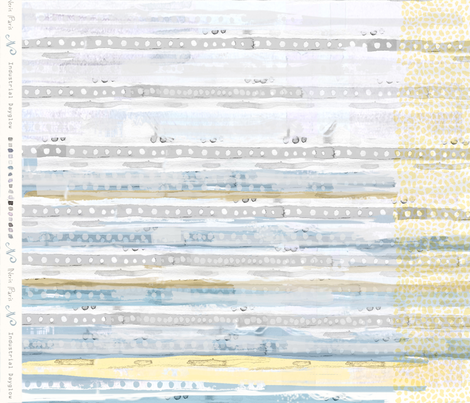 Industrial Dayglow Fat Quarters in Concrete Sun fabric by neris on Spoonflower - custom fabric