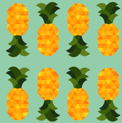 juicy pineapples