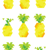 lovely bunch of pineapples