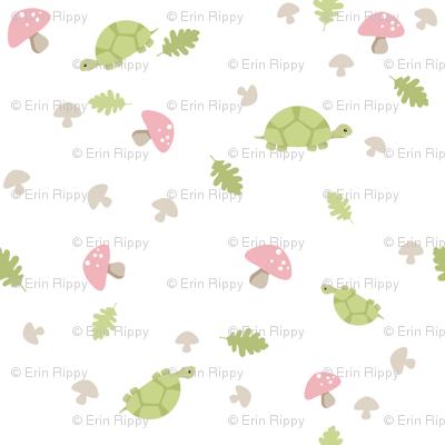 Turtles Wander - Pink