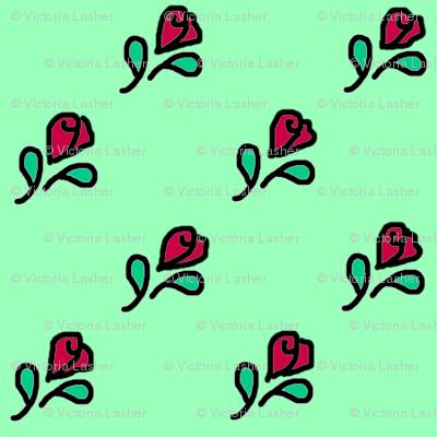 diagonal_red_flower_bud_doodle