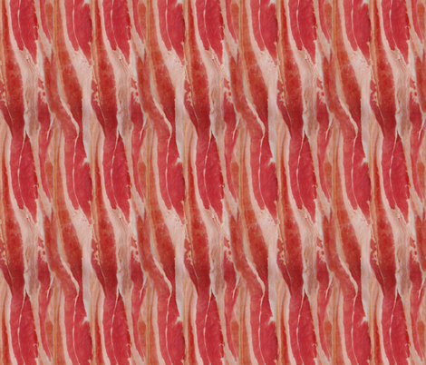 Bacon, Bacon, Bacon, Feorlen, and Bacon fabric by vo_aka_virginiao on Spoonflower - custom fabric