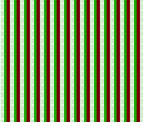 Holiday_Stripe fabric by cksstudio80 on Spoonflower - custom fabric