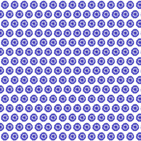 Doodle Circle A fabric by siya on Spoonflower - custom fabric