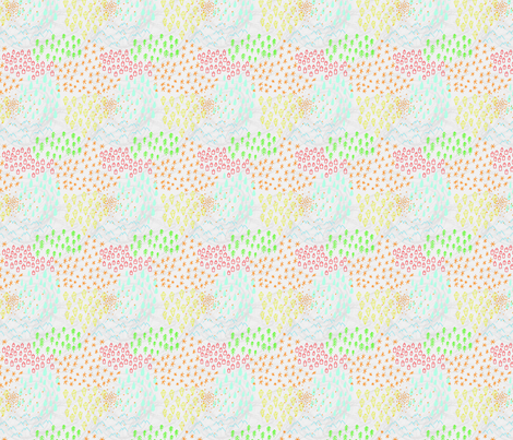Little town fabric by cleverviolet on Spoonflower - custom fabric