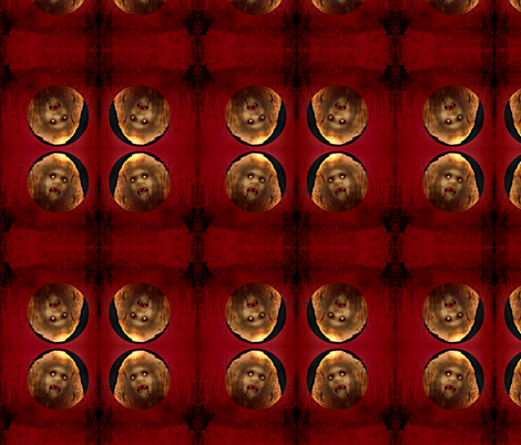 DW Vamp's Red fabric by paragonstudios on Spoonflower - custom fabric