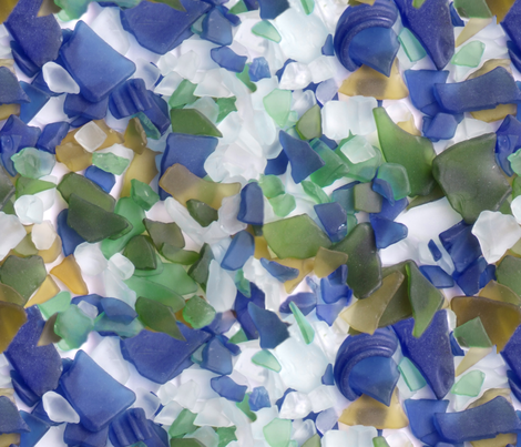 Beachglass fabric by chickie on Spoonflower - custom fabric