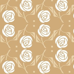 White Rose, tan