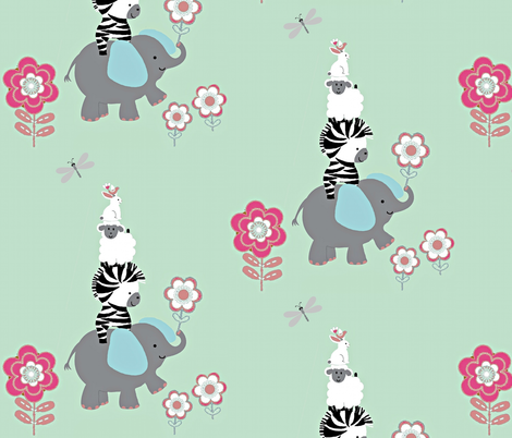 Funday playtime fabric by paragonstudios on Spoonflower - custom fabric