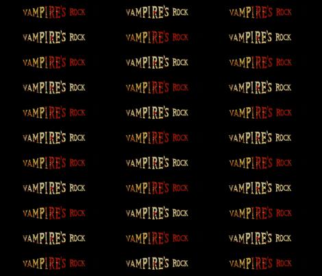 Vampire's Rock fabric by paragonstudios on Spoonflower - custom fabric