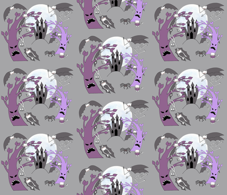 vampires night out fabric by uzumakijo on Spoonflower - custom fabric