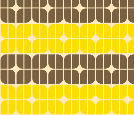 moto retroyellow fabric by holli_zollinger on Spoonflower - custom fabric
