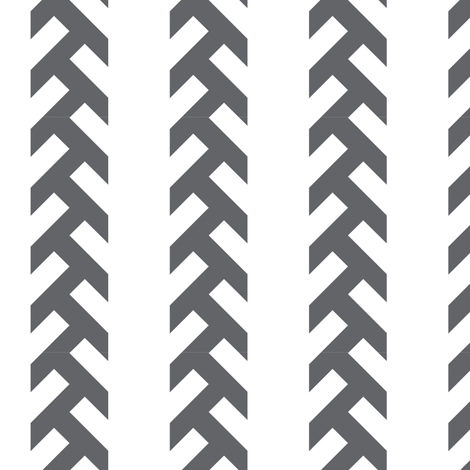 Tractor Tracks - DARK grey fabric by newmom on Spoonflower - custom fabric