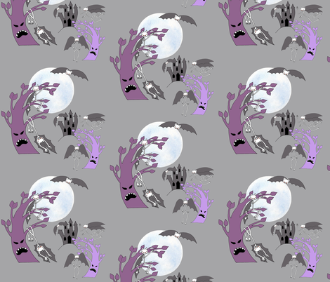 VAMPY PLAYTIME fabric by uzumakijo on Spoonflower - custom fabric