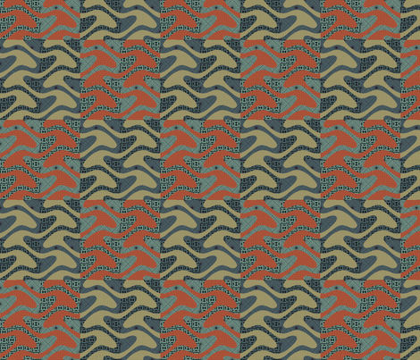 Furoshiki fabric by ormolu on Spoonflower - custom fabric