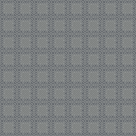Grey Zones Plaid © 2009 Gingezel Inc. fabric by gingezel on Spoonflower - custom fabric
