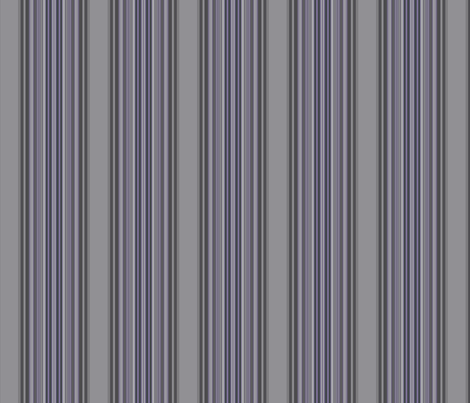Grey Zones Stripe in Amethyst Purple small © 2009 Gingezel Inc, fabric by gingezel on Spoonflower - custom fabric