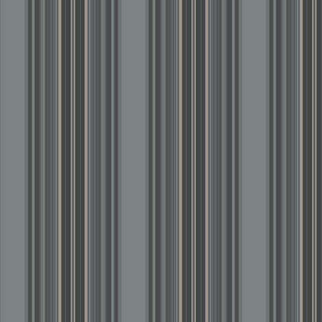 Grey Zones Stripe in Grey large © 2009 Gingezel Inc. fabric by gingezel on Spoonflower - custom fabric