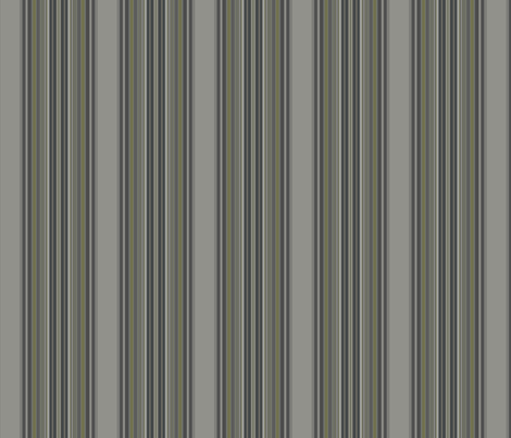 Grey Zones Stripe in Jade Green small fabric by gingezel on Spoonflower - custom fabric