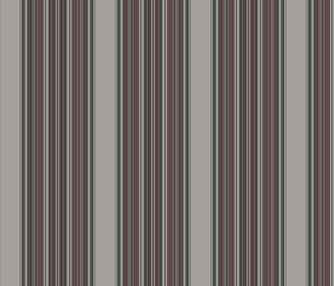 Grey Zones Stripe in Brown large © 2009 GIngezel Inc. fabric by gingezel on Spoonflower - custom fabric