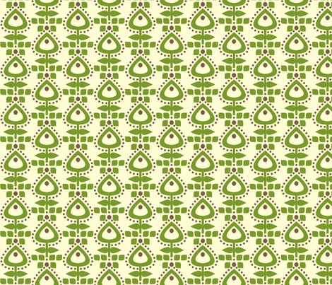 earthstem fabric by holli_zollinger on Spoonflower - custom fabric