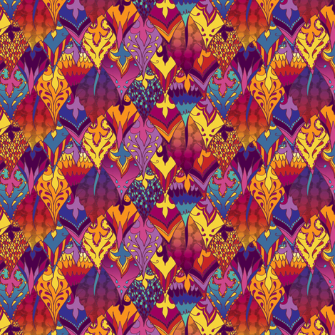 Viva la Vida fabric by jessicasoon on Spoonflower - custom fabric