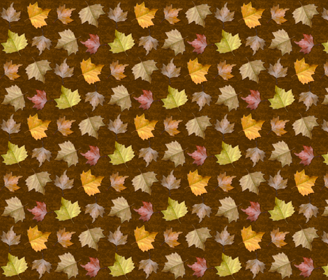 Fallen Leaves fabric by jadegordon on Spoonflower - custom fabric