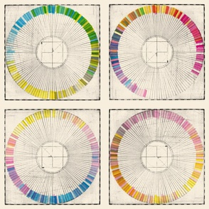 Color Wheels by Cathy Heck Studio