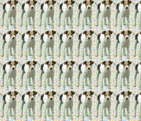 """French"" dog fabric by garotadocalhau on Spoonflower - custom fabric"