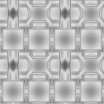 Elegantly Grey Patterned Fabric © 2010 Gingezel™