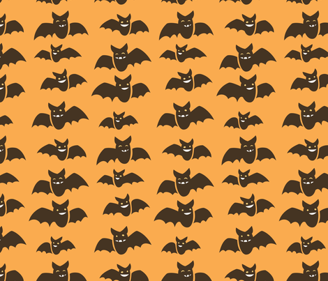 Gone Batty fabric by auki on Spoonflower - custom fabric