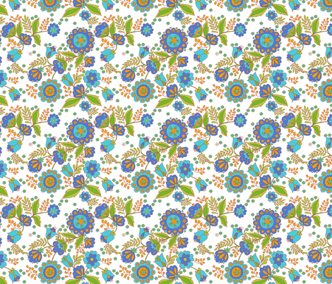 fleur_d_orient_ fabric by nadja_petremand on Spoonflower - custom fabric