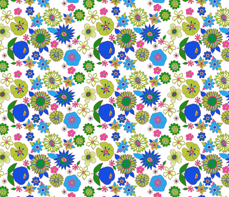 fleur_pop_n fabric by nadja_petremand on Spoonflower - custom fabric