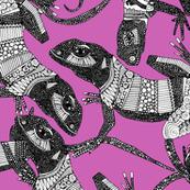 just lizards pink