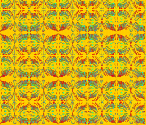 Sunny Beach fabric by robin_rice on Spoonflower - custom fabric