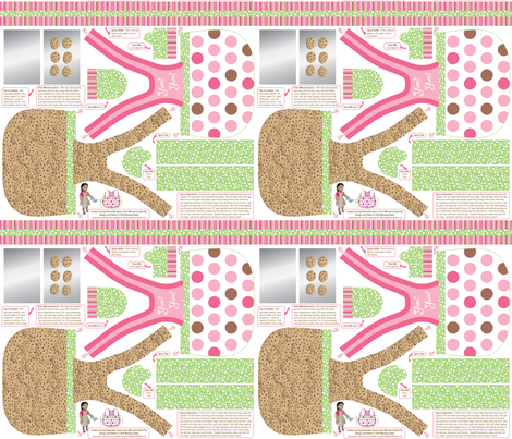 Cookie Craving Reversible Apron, Oven Mitt and Cookie Pan fabric by sew-me-a-garden on Spoonflower - custom fabric