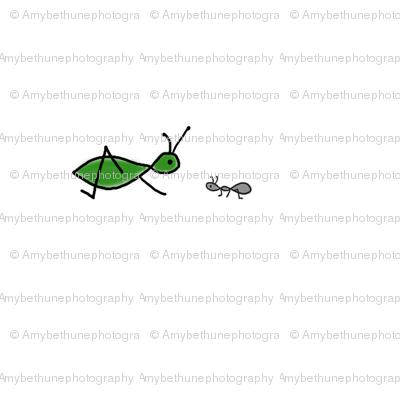 grasshopper + ant