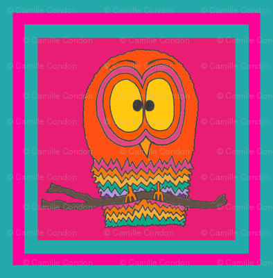 CurlyPops - Owlie Oblong