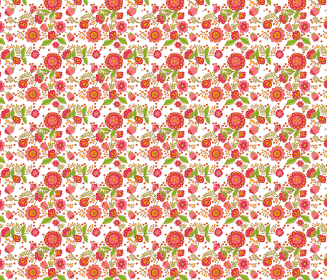 fleur_d_orient_rouge_n fabric by nadja_petremand on Spoonflower - custom fabric